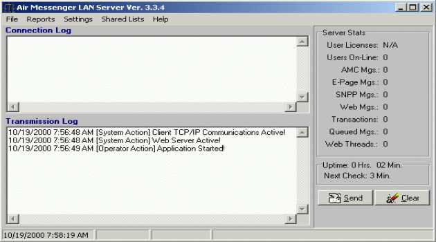 Air Messenger LAN Server