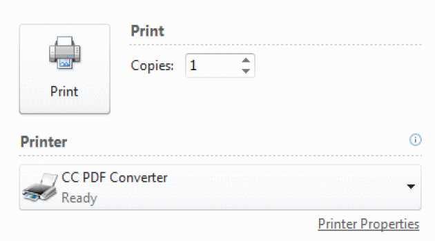 CC PDF Converter