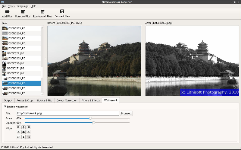 Picmutate Image Converter for Linux