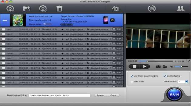 MacX iPhone DVD Ripper
