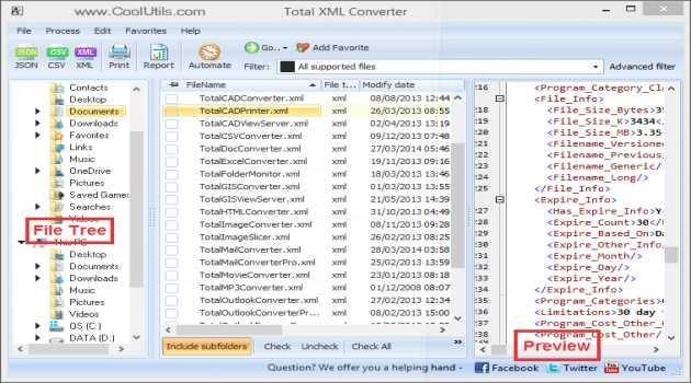Total XML Converter