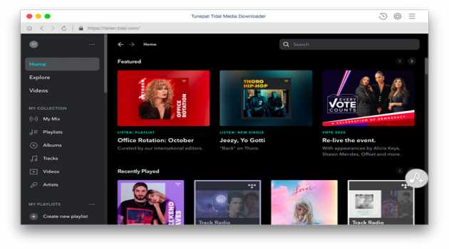 TunePat Tidal Media Downloader for Mac