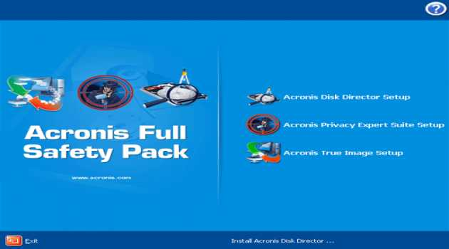 Acronis Full Safety Pack