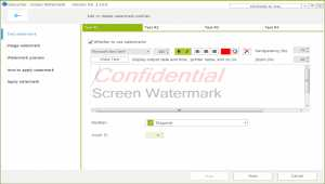 Screen Watermark For Business