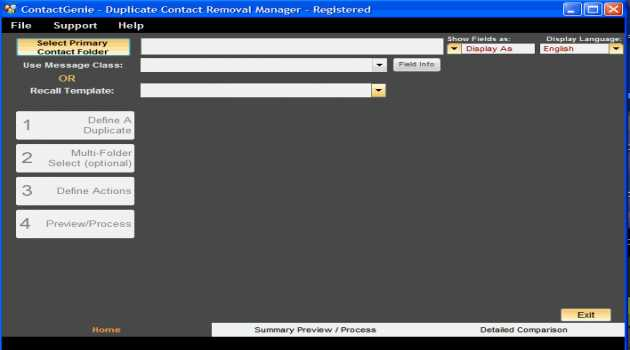 ContactGenie Duplicate Contact Manager