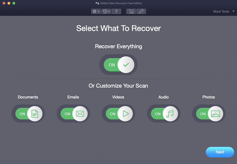 Stellar Data Recovery Free for Mac