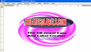 CD and DVD Jewel Case and Label Creator