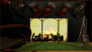 Free Fireplace 3D Screensaver