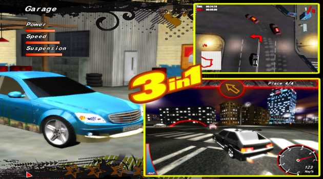 Street Racing Games Pack