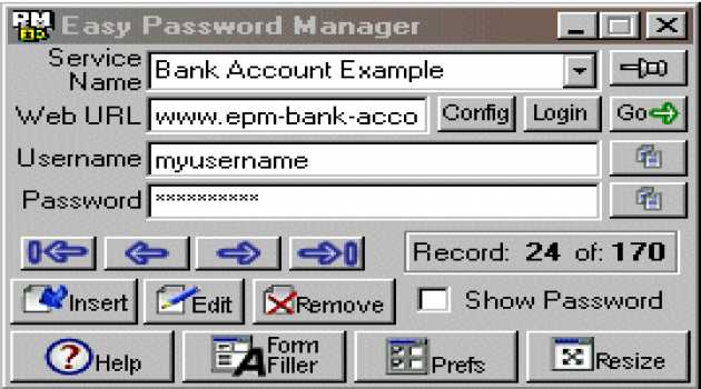 Easy Password Manager