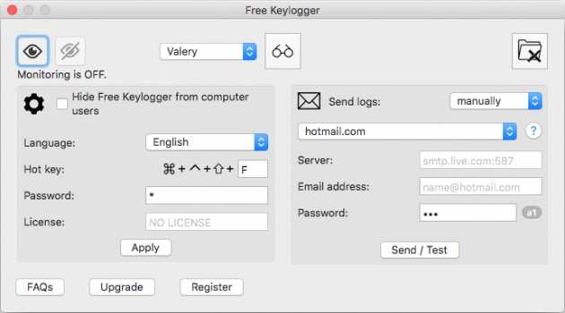 Free Keylogger for OS X