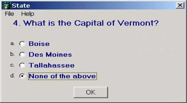 Quiz of the States