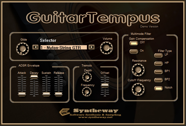 GuitarTempus Virtual Guitar