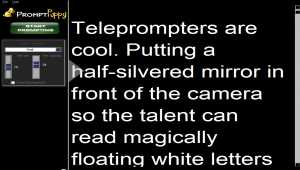 Teleprompter Software