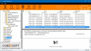 How to open .nsf file in Outlook 2007