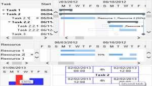 Gantt Chart Hyper Library