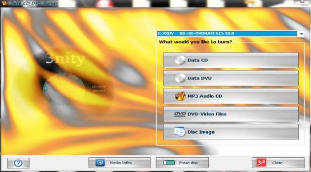3nity CD DVD BURNER