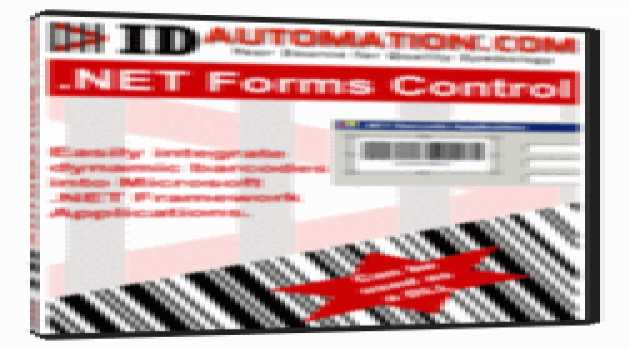 IDAutomation Barcode .NET Forms Control DLL