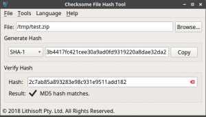 Checksome File Hash Tool