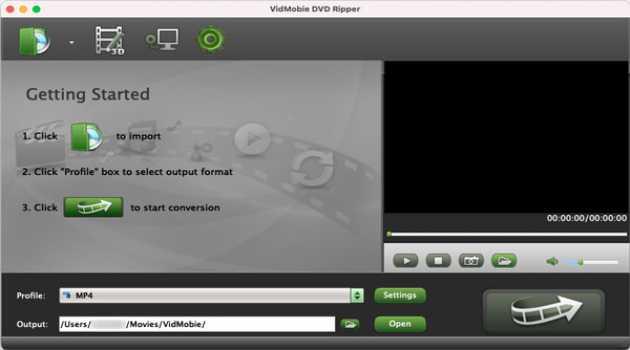 VidMobie DVD Ripper for Mac