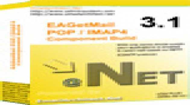 EAGetMail POP3 & IMAP4 .NET Component