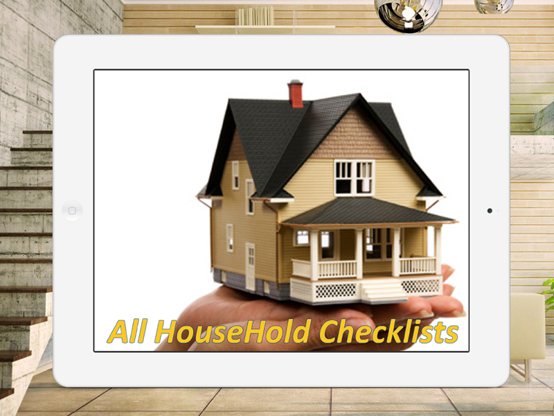 All Household Checklists