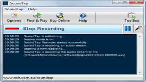 SoundTap Pro Streaming Audio Rekorder
