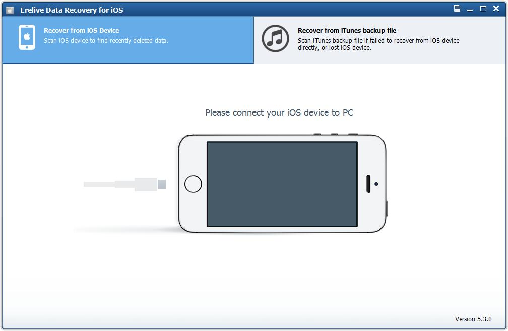 Erelive Data Recovery for iOS