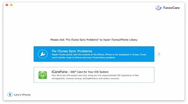 TunesCare for Mac