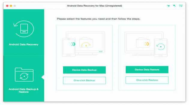 Apeaksoft Android Data Recovery for Mac