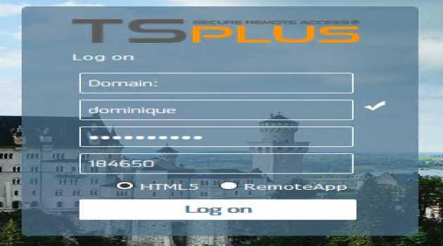 TSplus 2FA