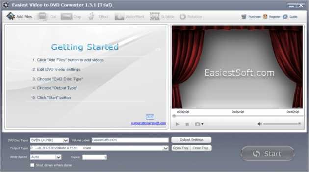Easiest Video to DVD Converter Windows