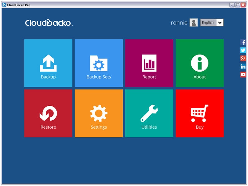 CloudBacko Pro for Linux