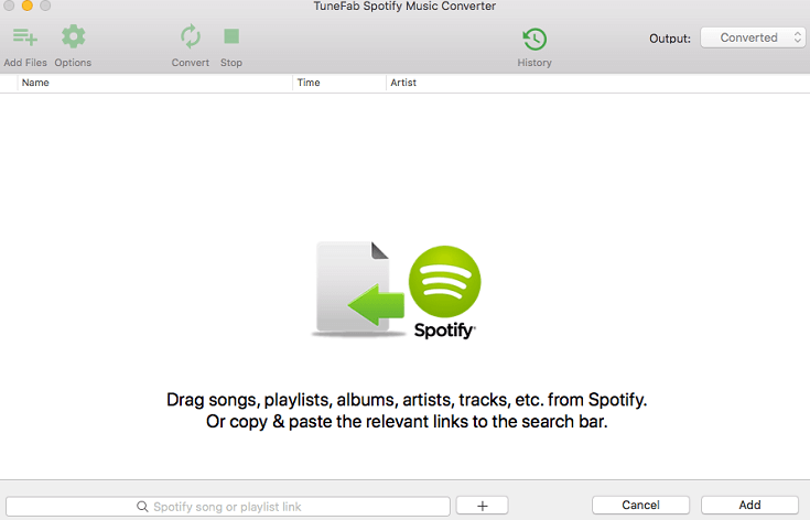 TuneFab Spotify Music Converter for Mac