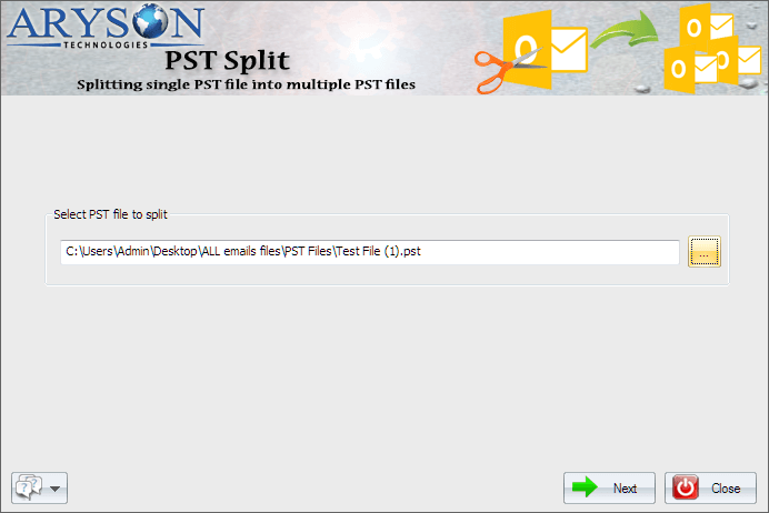 Split PST Software
