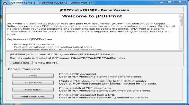 jPDFPrint for Linux