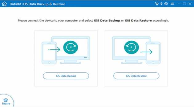 DataKit iOS Data Backup Restore