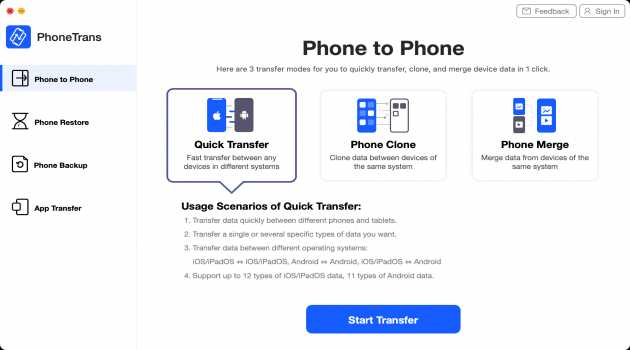 PhoneTrans for Mac