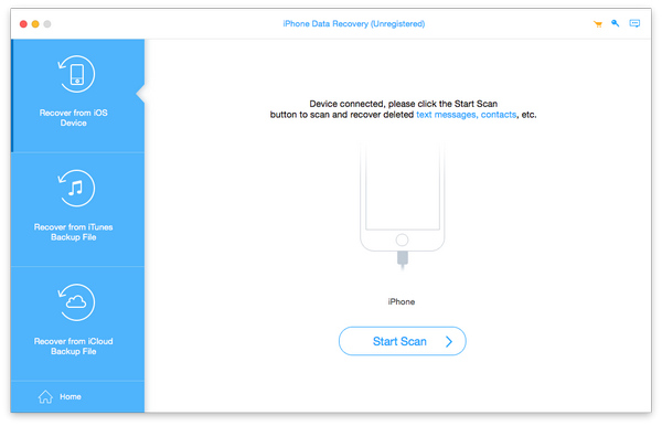 Apeaksoft iPhone Data Recovery for Mac