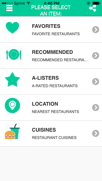 No Dining Curves for iOS