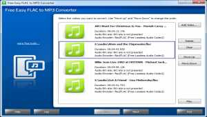 Free Easy FLAC to MP3 Converter