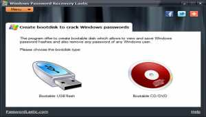 Windows Password Recovery Lastic