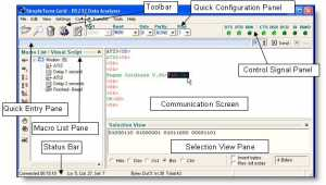 SimpleTerm Gold - Pro Edition - Serial Port Monitor / Serial Terminal / RS232 Analyser Visual Scripter