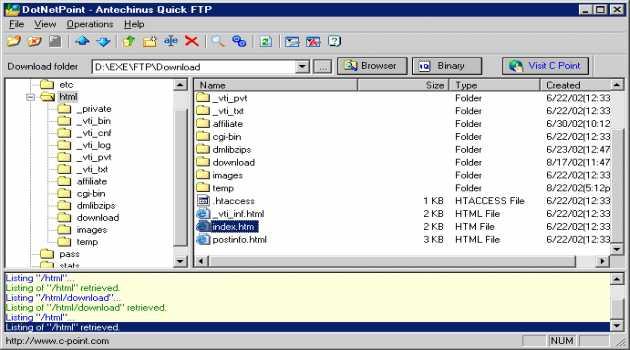 Antechinus Quick FTP