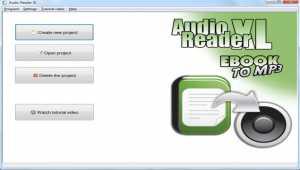 Audio Reader XL