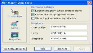 ABF Magnifying Tools
