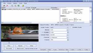 YASA AVI WMV MOV VOB to MP3 Converter
