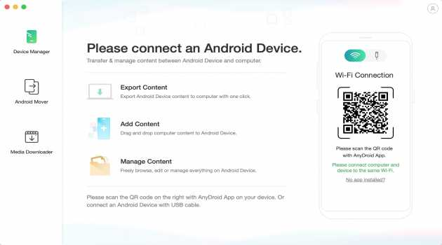 AnyDroid for Mac