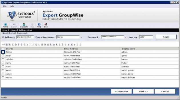 Exchange Groupwise to Outlook