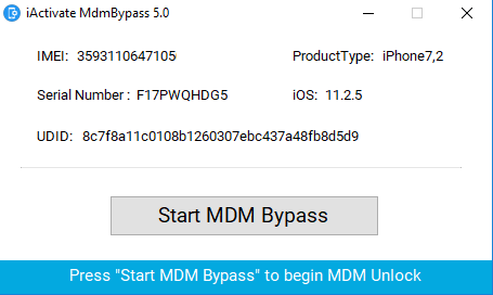 MDM Bypass iActivate Sofware